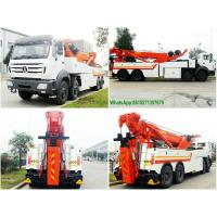 Cheap NORTHBENZ 8x4 HEAVY DUTY TOW WRECKER TRUCK PRICE Recovery Trucks Wrecker Beiben 3138 wholesale