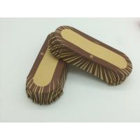 Cheap Oilproof Boat Shaped Paper Baking Cups Brown Cupcake Wrappers Muffin Eco Friendly wholesale