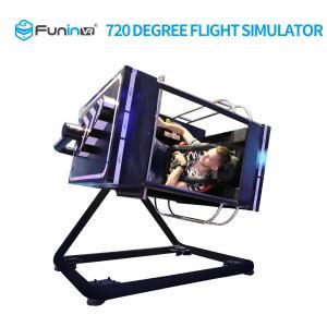 China Flight Joystick Control VR Flight Simulator For Pilot Training 5.1 Inch Sound System on sale