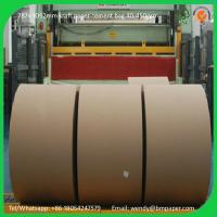 China BMPAPER Close to korea PE coated virgin singe side coated craft paper line for cement bags on sale