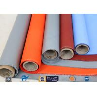Cheap Plain Weave Thermal Insulation Materials Silicone Coated Fiberglass Fabric wholesale