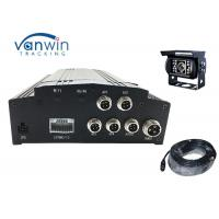 Cheap H.264 Vehicle Mobile Dvr Kit 4ch Car Dvr Camera System With 3g Gps Wifi wholesale