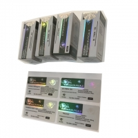 Cheap Custom Llaser 10ml Hologram Vial Labels And Boxes For Glass Bottle Packaging wholesale