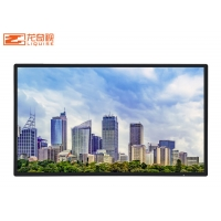 China 55Inch 65Inch HD Wall Mounted Advertising Display Ultra Thin on sale