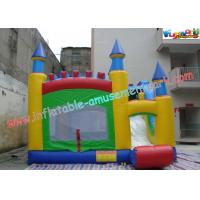Cheap Commercial Grade PVC Inflatable Bouncer Slide , Kids 4 In 1 Bounce House wholesale