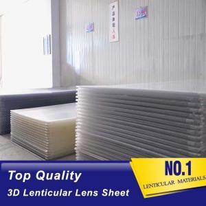Cheap PLASTIC LENTICULAR 25lpi PS lenticular board 3d lenticular lens sheet for 3d lenticular printing products wholesale
