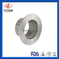Cheap Flange Sanitary Clamp Fittings Unpolished Type  14VB  Larger Size Customized wholesale