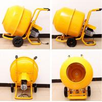 Cheap Mobile Electrical Wheelbarrow-style Mini Cement Mixer with 120L Polydrum and Solid Frame wholesale