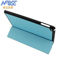 Cheap Hard Shell Smart Ultra Thin Leather iPad Case Stand Triangle , Magetic wholesale