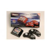 Cheap 16bit wireless arcade tv game player built 151in1 new gamelist with black color C-18A wholesale