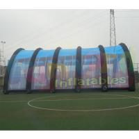 Cheap Customized Mobile Lnflatable Paintball Tent Waterproof And Fire Retardant wholesale