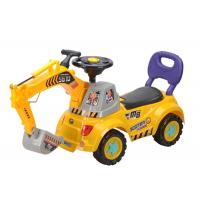 """Cheap 40 """" Push Kids Ride On Toys , Toddler Construction Sliding Car With Music wholesale"""