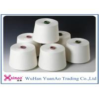 Cheap Ne40 Colored 100% Yizheng  Spun Polyester Yarn Raw White For Sewing for sale