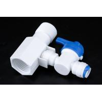 Cheap Quick Connect Tee RO Water Treatment System Two Way Sliptter And Inlet Valve wholesale
