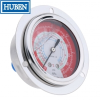 "Buy cheap 2.5"" GAUGE - CENTER BANK W/ FLANGE (30""HG - 30 PSI) - LIQUID-FILLED from wholesalers"