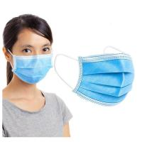 Cheap Fiberglass Free Disposable Face Mask High BFE / PFE With Elastic Earloop wholesale