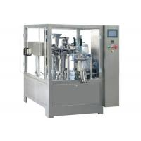 Cheap Shaped Bag Filling Sealing Premade Pouch Machine 2.2 Kw Power CE Certification wholesale