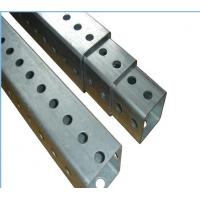 Cheap Heavy Duty Metal Fence Accessories Square Traffic Sign Posts ISO9001 CE wholesale