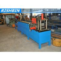 14 Forming Stations C Stud Truss Steel Frame Roll Forming Machine with Service Holes Punching