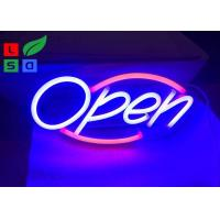 Cheap Safety Longevity Colorful Led Neon Open Sign For Indoors And Outdoors for Shops, Bars and Restaurant wholesale