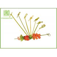 Cheap Healthy Bbq Vegetable Skewers , Yakitori Roasting Wooden Meat Skewers For Party wholesale