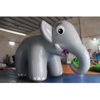 Cheap Customized Airtight Standing Inflatable Elephant Cartoon For Commercial Activity wholesale