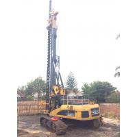 25 m Drilling Depth CFA Hydraulic Rig Machine KR200M , Rotary System Drilling Rig