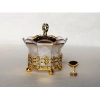 T3-Arabia Exquisite Gold-plated Louhua Eight flowers Sugar bowl
