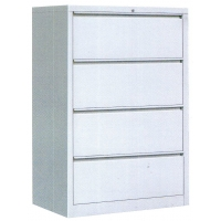 Cheap A1/A0 Format Lateral Four Drawer Metal Filing Cabinet Knockdown Design wholesale