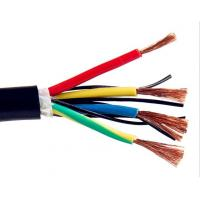 Multicore Screened Control Drag Chain Cable , Stranded Copper Wire High Stability
