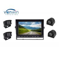 Cheap Sturdy 4CH 1080P LCD Quad Car Video Monitor DVR 12~24V With 4 Channel HD Inputs wholesale
