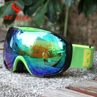 UV400 Protection Reflective Ski Goggles Windproof / Dustproof For Outdoor