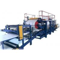 Cheap Eps / Rock Wool Sandwich Wall Panel Roll Forming Production Line / Machine wholesale