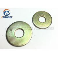 Cheap Round Head Flat Washers A Type , Flat Steel Washers For Mechanical Machine wholesale