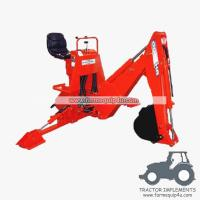 Cheap BH5600 - Light Model 3 Point Backhoe for small tractor 16-25hp wholesale