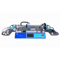 Cheap 2 Heads 58 Feeders CHMT48VB Benchtop SMD Pick and Place Machine / All in one Chip Mounter wholesale