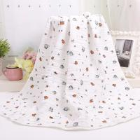 Cheap Custom Muslin Cotton Wrap Bamboo Fabric Baby Swaddle Blankets With Warped Knitting wholesale
