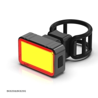 Cheap BK820G Brake induction USB Rechargeable Bicycle back Light wholesale
