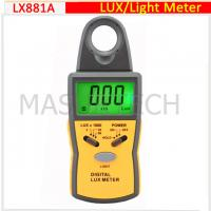 Cheap digital light meter, lux meter  0.1Lux~50,000Lux  LX881A wholesale