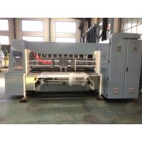 Buy cheap Industrial Corrugated Cardboard Production Line Flexo Printing And Die Cutting from wholesalers