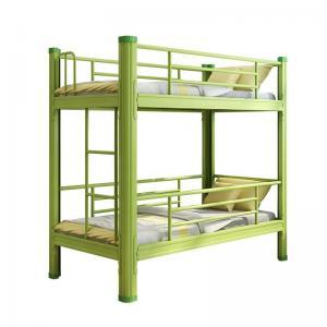 Cheap Steel Frame Kindergarten 1700*700*1500mm Dormitory Bunk Beds school student furniture wholesale