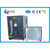 Cheap Micro Controlled Flame Test Equipment 820*820*1500 MM With Observation Window wholesale