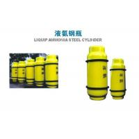 Cheap 800L Chlorine Gas Cylinder , Industrial Gas Cylinders 450KGS Weight wholesale