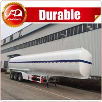Cheap transporting highly flameable liquids petrol, crude oil, fuel tank trailer wholesale