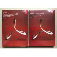 Cheap Adobe Acrobat Pro DC For PDF Graphic Design Software Original DVD With Retail Box wholesale