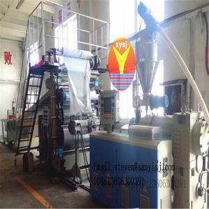 Cheap PVC imitation marble board extrusion line wholesale