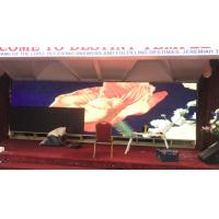 Quality Rental Full Color LED Curtain Display , P3 Stage Background Video Wall Screen for sale