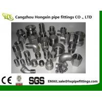 Cheap 2 Hex Nipple 3/8 Male x 3/8 Male 304 Stainless Steel threaded Pipe Fitting NPT wholesale