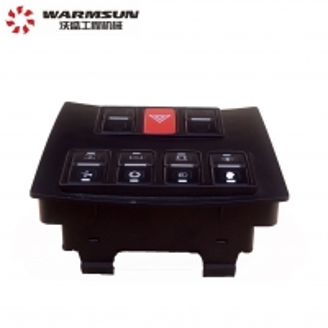 Cheap Truck Crane Parts 60346000 Bus Key Panel AJ1007 Plastic And Copper Panel Black For Sany Crane wholesale