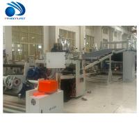 Cheap Energy Saving TPE Sheet Extrusion Line With Spiral Feeding 200~380kg/H wholesale
